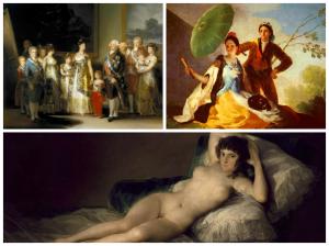 Goya paintings at the Prado