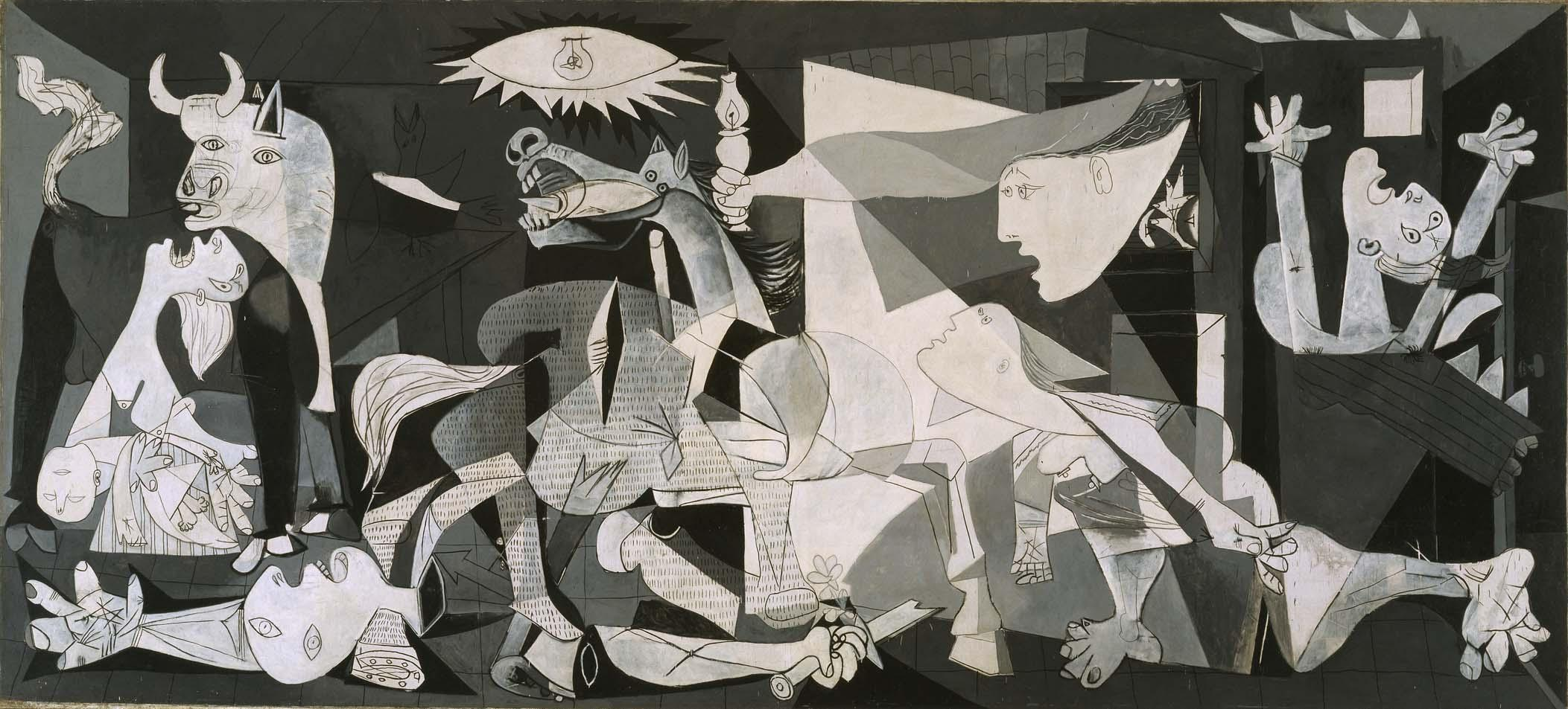 Pablo Picasso S Guernica Was An Exercise In Painting