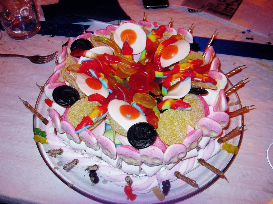 The Pick'n'mix cake at my 21st birthday
