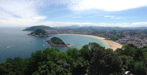 San Sebastián panorama