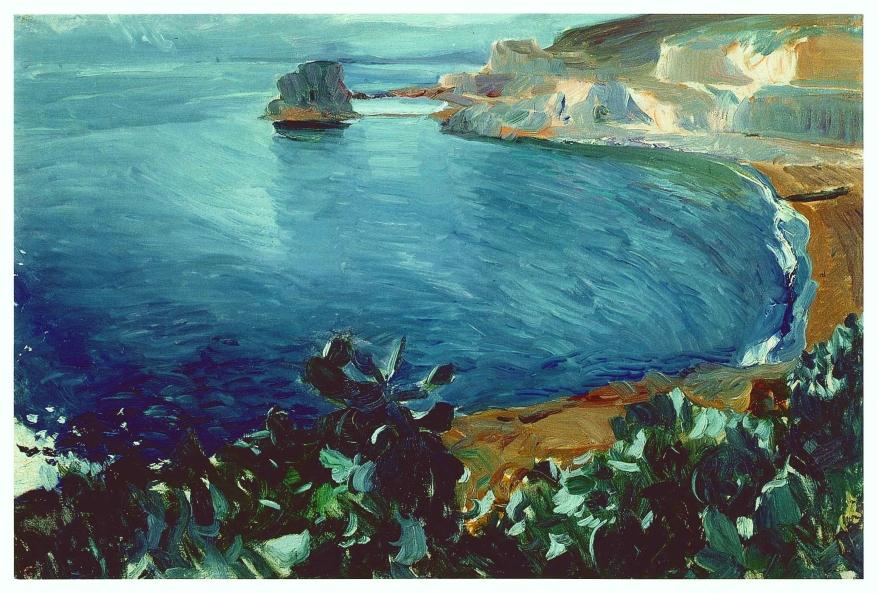 Sorolla Museum postcard