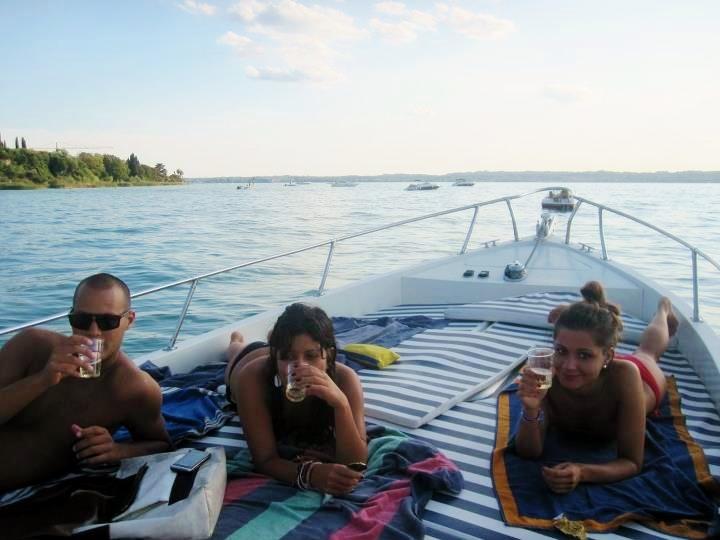 Lake Garda boat