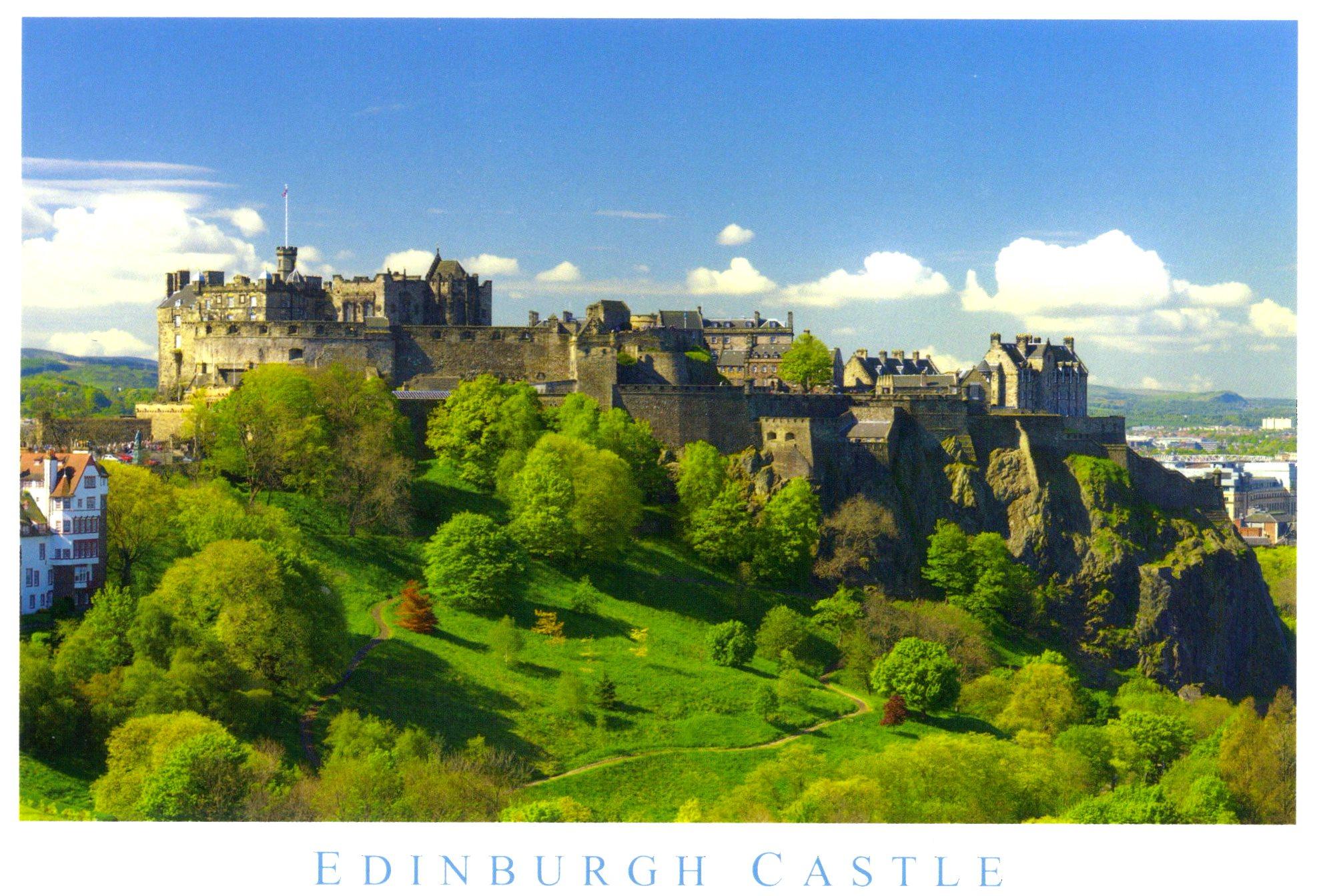 Postcard Of The Week Edinburgh Amp Scottish Independence