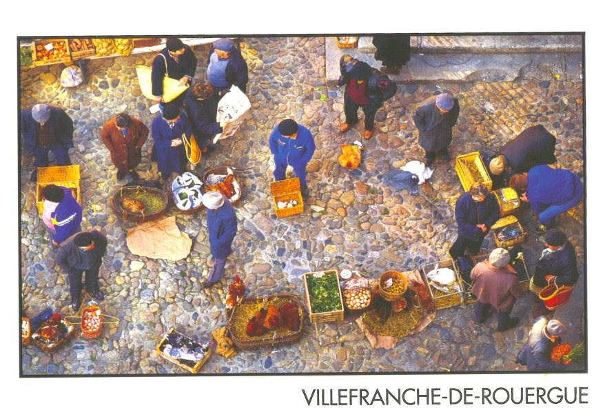 villefranche postcard