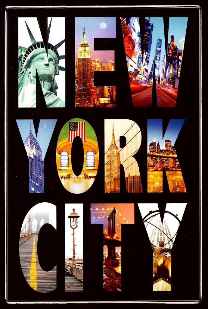 NYC postcard New York