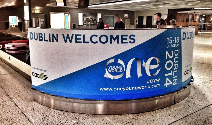 Welcome to One Young World Dublin 2014