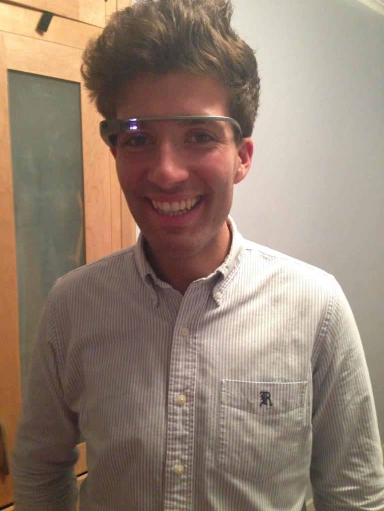 London through Google Glass