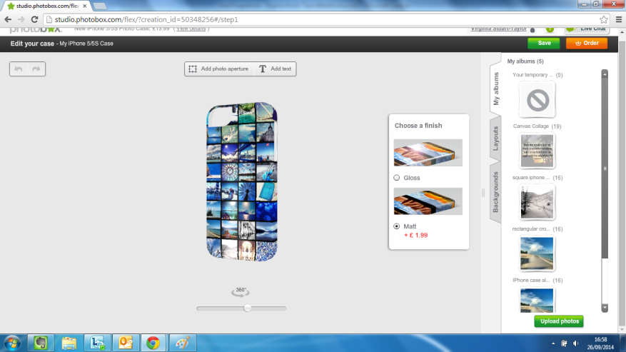 Photobox Screenshot2