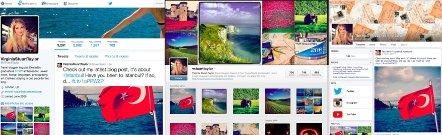 The Well-Travelled Postcard Social Media Tech Trends for Travel