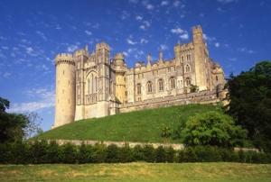 Arundel Castle Blue Sky