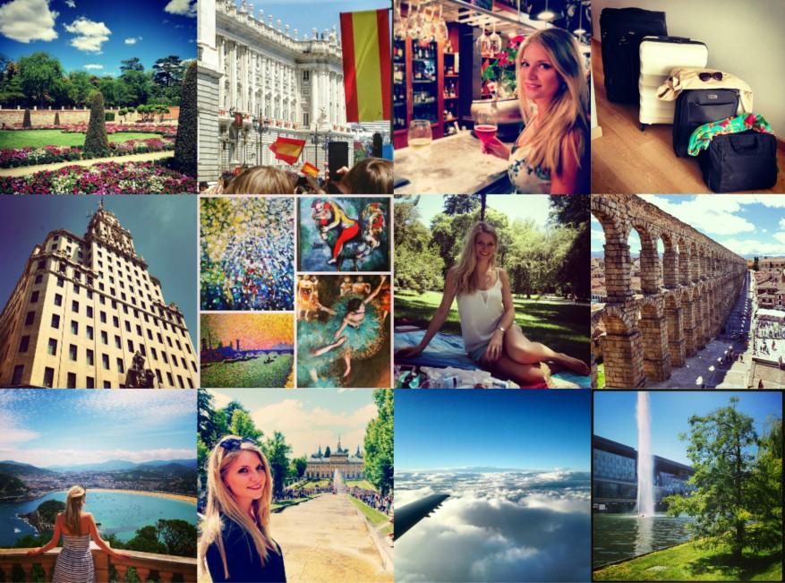 Instagram Collage Madrid