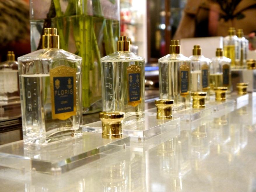 Floris perfumes Jermyn Street