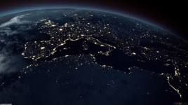 earth from space - space travel