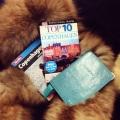 Copenhagen guidbooks andpassport