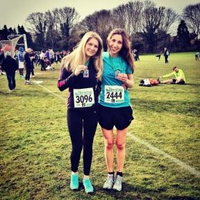 Hampton Court Half Marathon medals