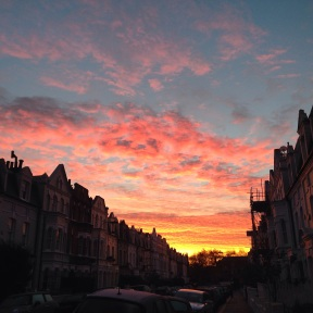 Sunrise in Fulham