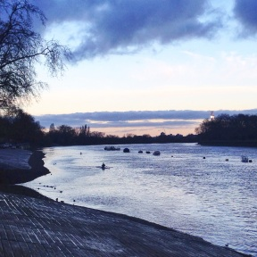 Thames Path in Putney