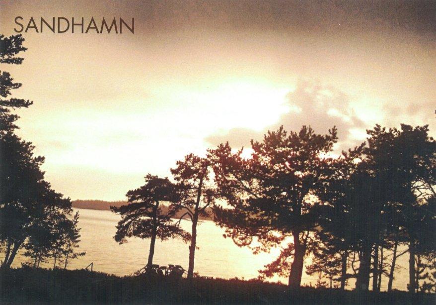 Sandhamn island postcard