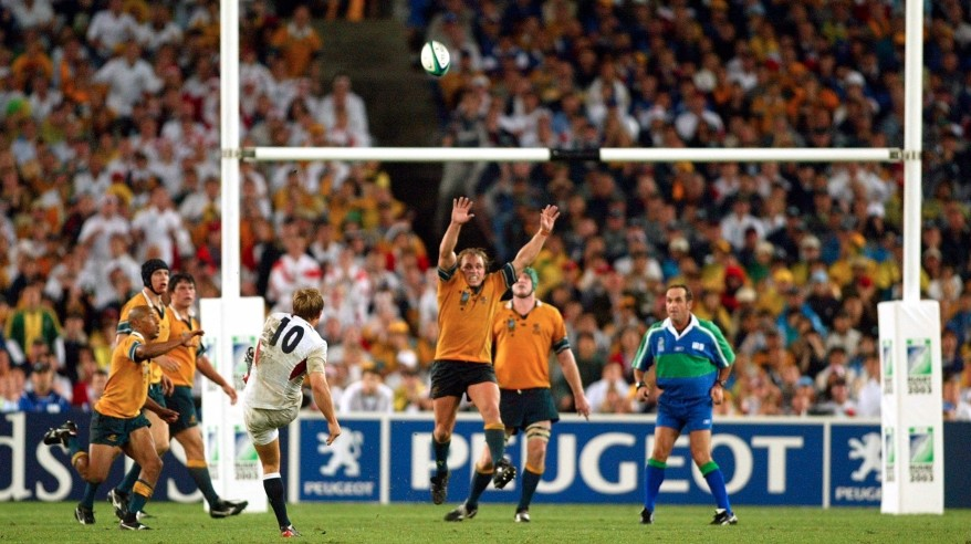 Jonny Wilkinson drop-goal