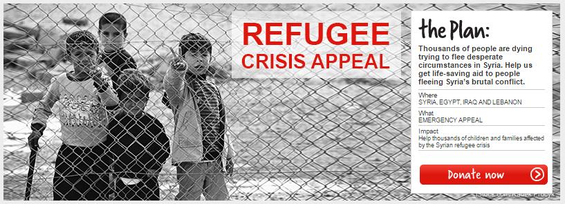 refugee crisis appeal