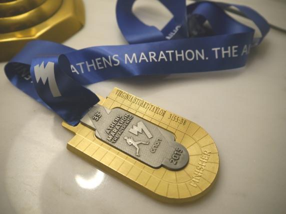 Athens Marathon medal