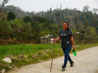 Asha in Nepal