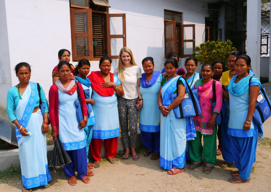 Pregnant Women's Groups in Nepal