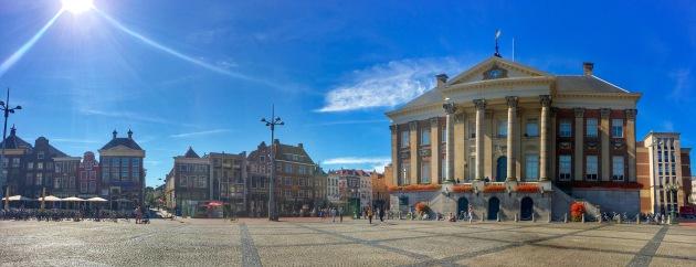 Groningen Grote Markt Panorama