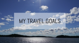 My Travel Goals