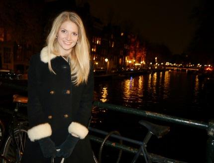 Virginia in Amsterdam