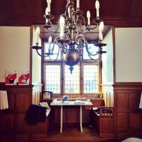 Study spot in Academy Building Groningen University