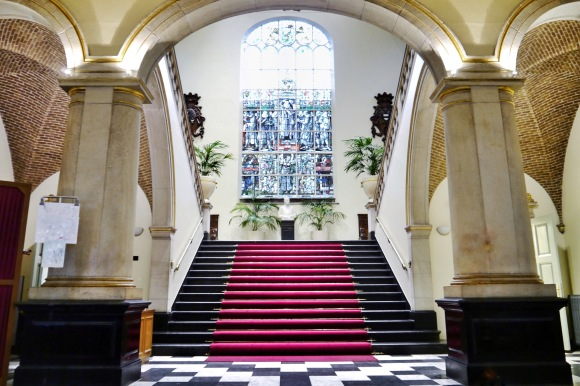 Staircase of the Academy Building in Groningen University