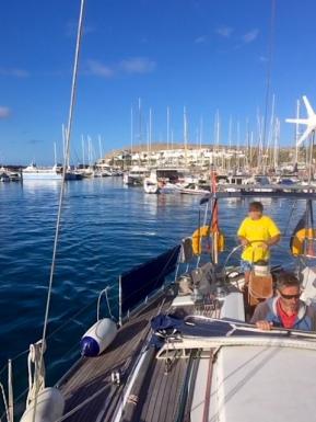 2018 Jan Leaving Gran Canaria