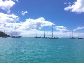 2018 Jan Yachts at anchor