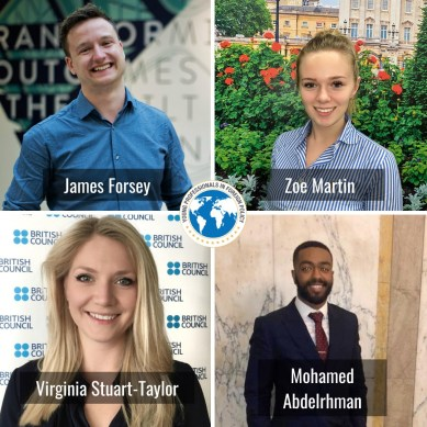 The UK delegation to the G7 Youth Summit 2020