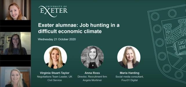 Job-hunting in the pandemic webinar