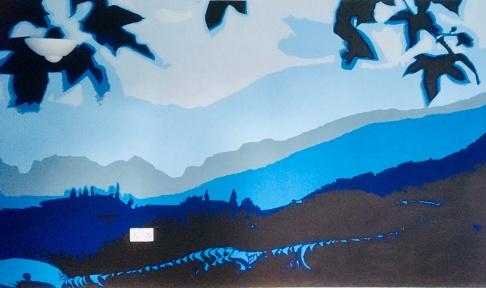 Longsheng Dragon's Backbone mural 2